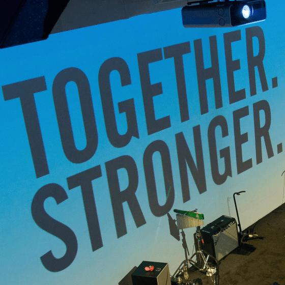 Together. Stronger.