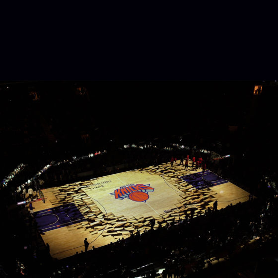 Madison Square Garden Knicks and Rangers Projection Mapping 2015/16